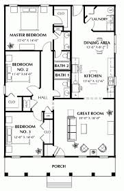 3 bed 2 bath house plans gorgeous floor plan for a small house 1150 sf with 3 bedrooms and