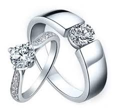engagement rings for couples 9 beautiful diamond rings for couples styles at