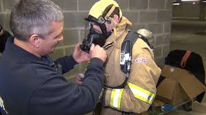 Firefighters Stair Climb by Wtop Suits Up For Firefighter Stair Climb Ahead Of World Police