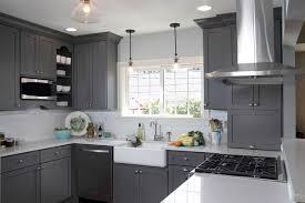 Grey Cabinets In Kitchen Gray Kitchen Cabinets U2013 Traditional Kitchen Design Kitchen