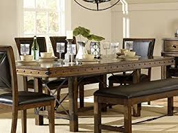 Rustic Dining Room Furniture Sets Rustic Turnbuckle Dining Room Furniture In Burnished