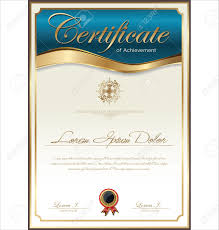 fillable award certificate template