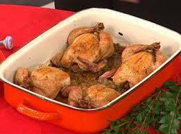 moulton s thanksgiving hens recipe