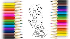 strawberry shortcake berry best friends forever drawing pages l
