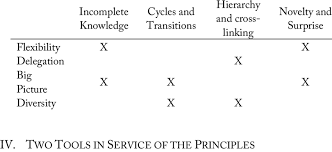 system themes and suggested principles