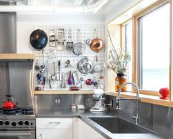 pegboard ideas kitchen kitchen pegboard industrial kitchen ideas kitchen industrial with