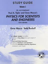 physics for scientists and engineers study guide to 5r e v 1
