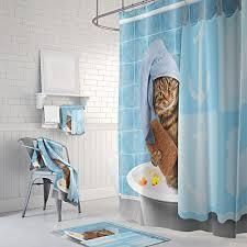 72 X 78 Fabric Shower Curtain Ufaitheart Fabric Shower Curtain 72 X 78 Inch