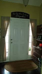 diy side light curtains lights window and front doors