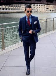how to wear navy dress pants with a blue dress shirt men u0027s fashion