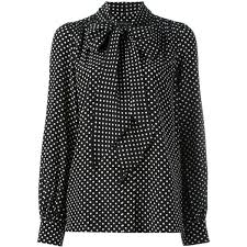 black polka dot blouse marc polka dot blouse 355 liked on polyvore featuring