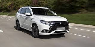 mitsubishi sports car white mitsubishi outlander phev review carwow