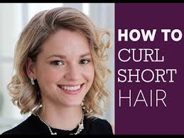 how to put rollersin extra short hair how to curl short hair