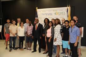 college hosts launch of newark youth summer work program essex