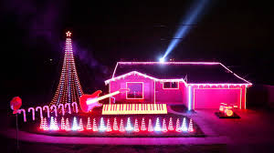 pictures of homes decorated for christmas best of star wars music light show home featured on abc u0027s great