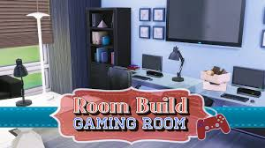the sims 4 room build gaming room youtube