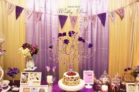 theme wedding decor joco lico handmade event decor purple theme wedding decor 4 11 2014