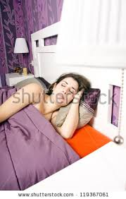 Sleeping With The Lights On Sleeping Bed Night Stock Images Royalty Free Images U0026 Vectors
