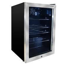 mini bar refrigerator glass door compact costco