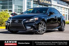 lexus sport 2014 used 2014 lexus is 350 f sport series 2 for sale in montreal