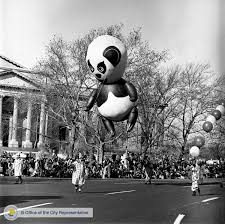 we t forgotten gimbels thanksgiving parade was the