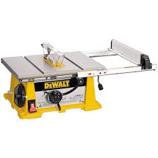 Bench Top Table Saws Factory Reconditioned Dewalt Dw744r 10 In Benchtop Table Saw