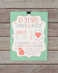 15 year anniversary ideas 15 year anniversary gift for husband and 15th anniversary