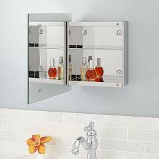 stainless steel mirrored cabinet signature hardware