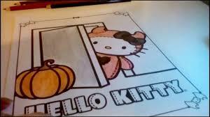 hello kitty halloween activity coloring book youtube