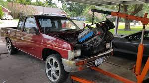 nissan titan engine swap started my new project 97 ls1 swap nissan frontier ls1tech