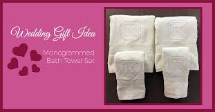 wedding gift towels wedding gift idea monogrammed bath towels sew creative custom