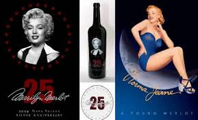 Anniversary Wine Bottles Marilyn Merlot Celebrates Its 25th Anniversary Marilyn Monroe Wine