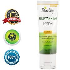 All Natural Sunless Tanning Lotion Natural Tanning Lotion Shop Natures Design