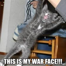 War Face Meme - this is my war face meme is best of the funny meme
