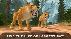 tiger apk of sabertooth tiger 3d apk v1 1 mod money