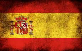 Spanish Flag Circle Free Spain Flag Backgrounds For Powerpoint Flags Ppt Templates
