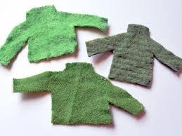 how to make mini ugly sweater christmas tree ornaments hgtv