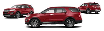 Ford Explorer Colors - 2017 ford explorer awd platinum 4dr suv research groovecar