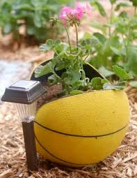 Recycling Garden Ideas Three Different Ideas For Reusing Balls In The Garden Including A