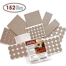 premium felt furniture pads set 152 pieces including bonus
