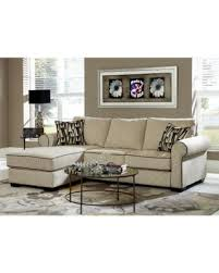 Sofa Chaise Lounge Holiday Savings Cream Chenille Reversible Sofa Chaise Sectional