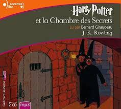 la chambre des secrets 9782070614820 harry potter et la chambre des secrets mp3 cd