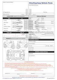 car hire agreement form template uk starengineering