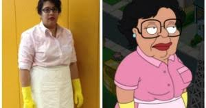 Family Guy Halloween Costume Family Guy Cleaning Lady Costume Weknowmemes