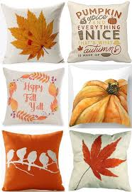 autumn decor 30 fall pillow covers frugal autumn decor the frugal