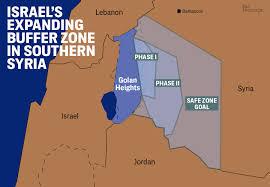 Damascus Syria Map Israel U0027s U201csafe Zone U201d Is Creeping Farther Into Syria
