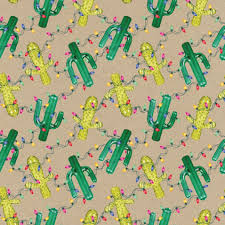 cactus kraft roll wrapping paper cactus collections