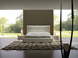 Luxury Modern Bedroom Furniture by Luxurious Modern Bedrooms Interior With Pure White King Size