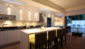 kitchen contemporary kitchen light fittings led lighting for