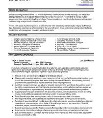 Senior Accountant Resume Sample by Amazing Design Ideas Accountant Resume 14 31 Best Images About